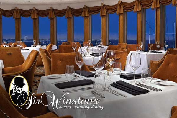 Sir Winston S Aboard The Queen Mary Long Beach Urban Dining Guide