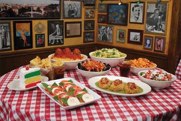 Buca di beppo encino urban dining guide for Antique thai cuisine san diego