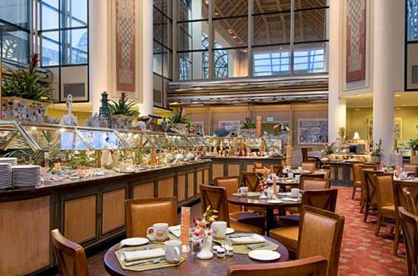 Buffet In Hilton Hotel In Universal City