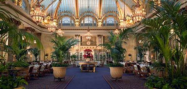 The Only Indoor Historic Landmark In San Francisco, The Garden Court  Restaurant Debuted In 1909 And Has Been The Remarkable Setting For Family  Gatherings, ...