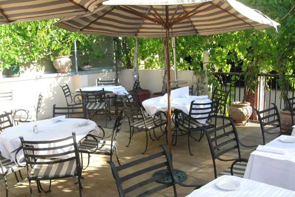 A Hidden Oasis Within Menlo Park Serving Modern Italian Cuisine With California Flair Trellis Truly Unique Upstairs Patio Offers
