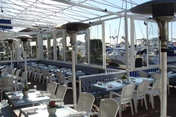 We Are Located On The Water In Dana Point Harbor Offer Our Guests A Spectacular Waterfront View From Both Dining