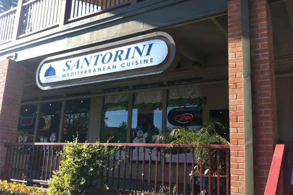 Located In The Heart Of Danville Ca Santorini Is A Casual Mediterranean Restaurant With Great Selection Food From Region