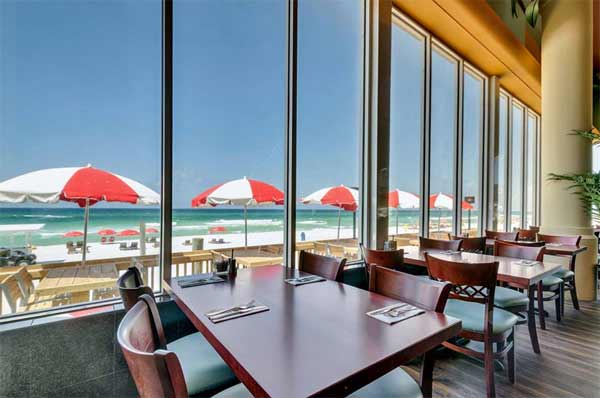Harpoon Harry S Beachfront Restaurant Sits Right On The Beach Of Gulf Mexico And Has Great Food Including Seafood Steaks As Well Delicious