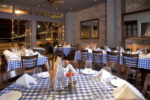 Perry S On The Embarcadero Is A Sleek Waterfront Outpost Of Union Street Original Following Same Combination All American Favorite Fare And