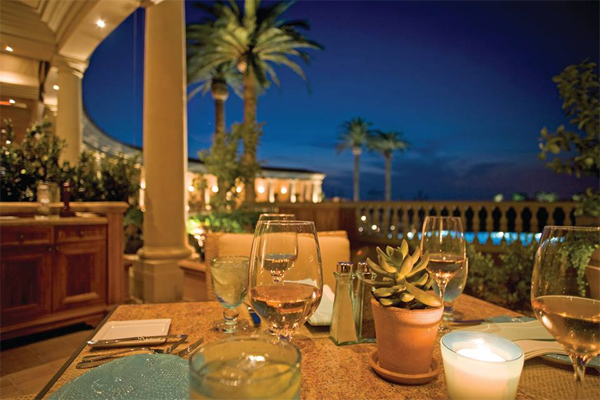 Coliseum Pool Grill The Resort At Pelican Hill Newport Coast Urban Dining Guide