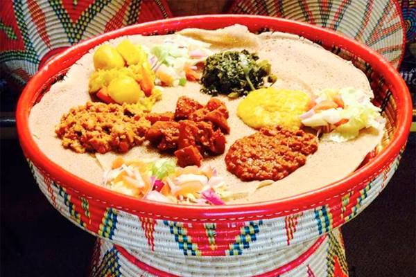Messob ethiopian restaurant los angeles urban dining guide for Authentic thai cuisine los angeles