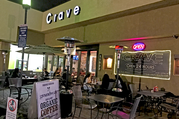 Crave Cafe Studio City Open Mic