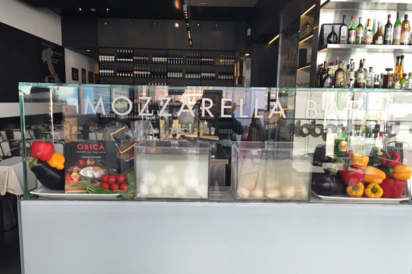 obica mozzarella bar, pizza e cucina ? century city | urban dining ... - Cucina Bar