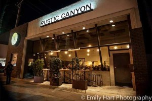 Rustic Canyon Wine Bar - Santa Monica