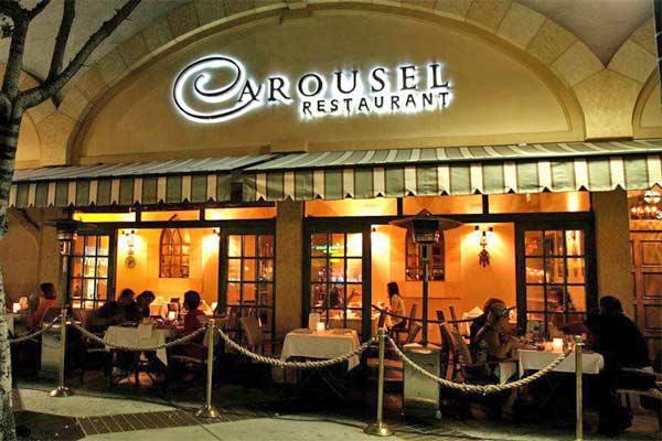 Carousel Restaurant Glendale Urban Dining Guide