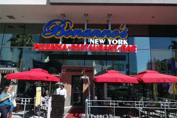 Bonanno S New York Restaurant And Bar Las Vegas Urban