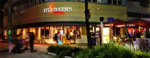 5 Napkin Grill - South Beach - Miami Beach