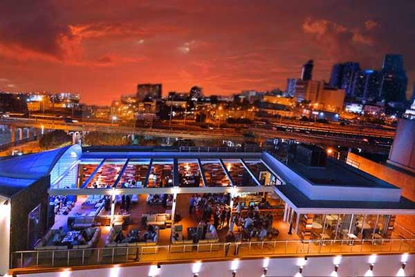 Touche Rooftop Lounge Restaurant Miami Urban Dining Guide