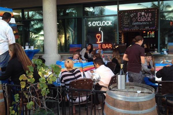 Five O Clock Wine Bar Long Beach