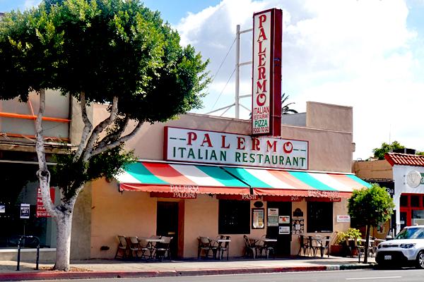 Palermo Italian Restaurant Los Feliz Los Angeles Urban