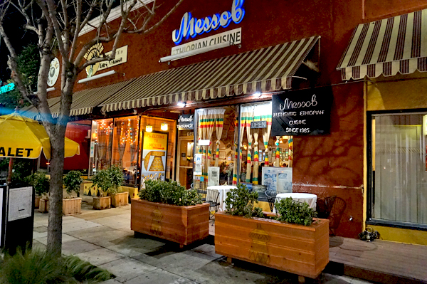 Messob Ethiopian Restaurant Los Angeles Urban Dining Guide