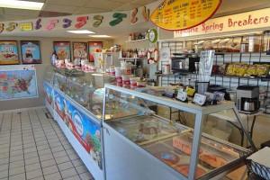 Hershey's Beach Ice Cream Shop - Panama City Beach